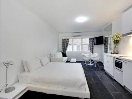 SOUTH YARRA SHORT STAYS FULLY FURNISHED STUDIO South Yarra Stonnington Area Preview