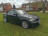 2008 BMW 118I 2.0 FACTORY M SPORT 2DR CONVERTIBLE FSH LOW 112K LONG MOT STUNNER