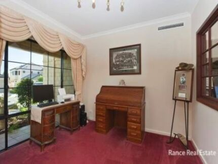 SOLID OAK ROLL TOP DESK East Fremantle Fremantle Area Preview