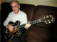 Guitar lessons by retired professional in East Windsor