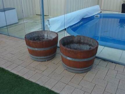 Half Wine Barrels For Sale Leeming Melville Area Preview