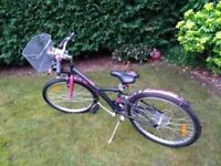 BTwin Poply 500 girls bicycle for sale