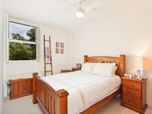 Queen solid wooden  bed frame Lilyfield Leichhardt Area Preview