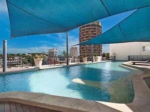 Townsville CBD apartment main master bedroom for rent Townsville Townsville City Preview