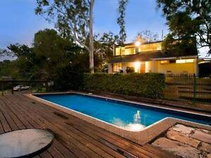 A leafy outlook from this elevated position, space and a pool Kenmore Brisbane North West Preview