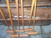 Croquet Set.