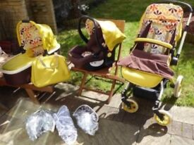 Cosatto Ooba 3 in 1 Travel System £170