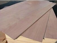 Big sheets of 6mm plywood