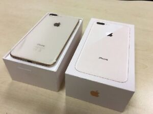 APPLE IPHONE 8 PLUS►64GB►OPEN BOX►APPLE WARRANTY SILVER / GOLD