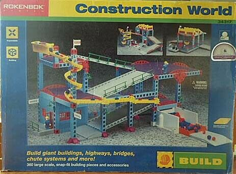 ROKENBOK 34317 CONSTRUCTION WORLD NIB 1997