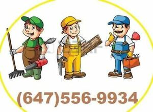 Experienced Handyman Available in Hamilton & Burlington Area.