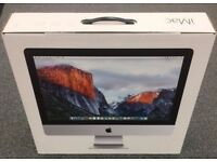 """iMac 21.5"""" EMPTY Box including Polystyrene Inserts"""