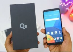 BRAND NEW►LG Q6►BLACK ►32GB ►Comes With box and all accessories
