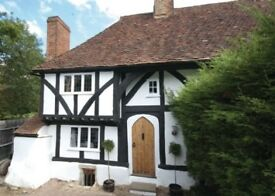 500 year old lovely cottage on wall of park to rent short or long let considered