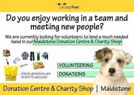Dogs Trust.. volunteers needed for driving and in our warehouse