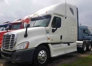 2  2012 Freightliner Cascade Lease take over
