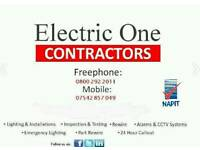 ELECTRIC ONE ELECTRICIANS