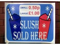 Slush Window Poster For Sale