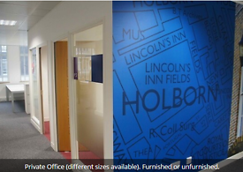 High Holborn Office Space Available! Refurbished period building, serviced suites WC1