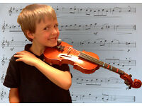 One to one violin lessons - all levels, beginners welcome!