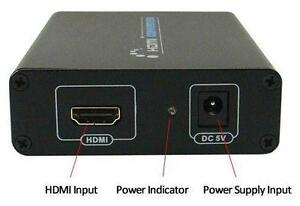 HDMI to VGA and 3.5mm Audio Converter - HD Video Processing