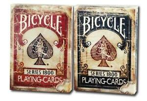 old bicycle cards