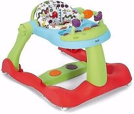 MAMA & PAPA'S BABY 3 IN 1 WALKER HARDLY USED MINT CONDITION
