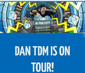 Wanted to buy 2 Dantdm tickets Wavell Heights Brisbane North East Preview