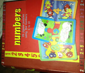 Numbers puzzle for sale