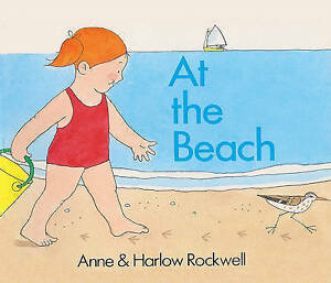 USED-VG-At-The-Beach-Turtleback-School-amp-Library-Binding-Edition-by-Anne-Roc