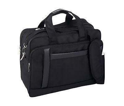Maxam 16 inch Nylon Expandable Briefcase/Computer Bag