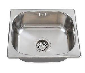 Stainless Steel Sinks Ebay : Stainless Steel Kitchen Sink eBay