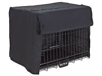 Small dog/ puppy crate and cover only used 4wks perfect condition folds flat for storage