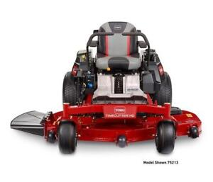 Own a Toro Timecutter Zero Turn for as little as $2850!