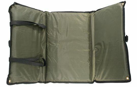 Mikado Abhakmatte / Karpfenmatte Fine Liner Mat mit Wiegeschlinge 90x47 cm, grün