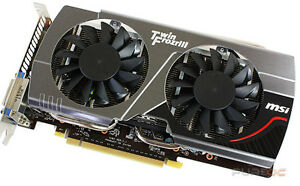 REDUCED PRICE-- MSI GeoForce GTX 650 TI Boost 2GB D5 Belleville Belleville Area image 1
