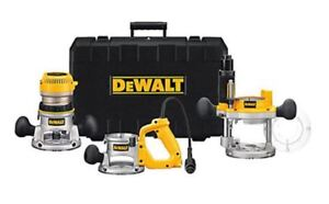 Gift DEWALT DeWALT 2-1/4 HP Three Base Router Kit