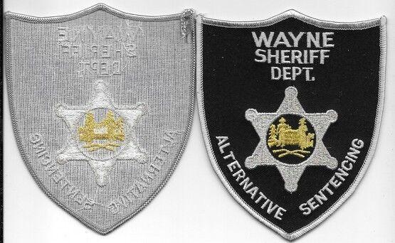 WAYNE  COUNTY CO WV SHERIFF DEPT GRAY BLACK   ALTERNATIVE SENTENCING SO SD