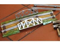 Vintage Model railway O gauge layout accessories , multiple items NEW LOWER PRICE FOR QUICK SALE