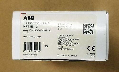 ABB NF44E-13 RELAY 4NO 4NC 100-250V50/60HZ-DC Coil
