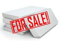 FREE Double mattress and memory foam topper FREE