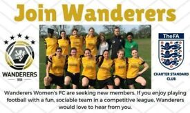 Wanted: 11-a-side women's football players (GK, CDM, CB)
