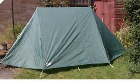 Tent: Ariel two-person ridge tent with integral groundsheet