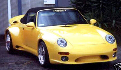 Porsche Bad Boy's Illuzion Wide Body Kit for 993 Carera from 1990-1998 WoW!!