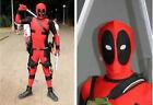 Deadpool Suit Black Unisex Costumes