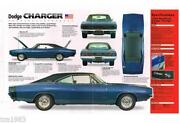 1968 Dodge Charger Brochure
