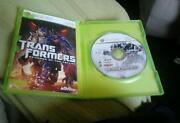 Transformers Revenge of The Fallen Xbox 360
