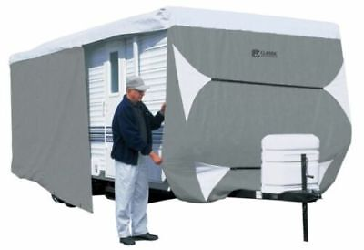Classic Accessories 73463 PolyPro III Travel Trailer Motor Home RV Cover 24'-27'