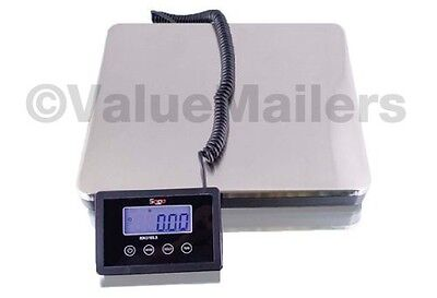 Saga 160 Lb Digital Postal Scale For Shipping Weight Postage Wac 76 Kg