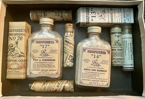 Humphreys Antique Medicine Lot Collectables and Novelty Pre-1930